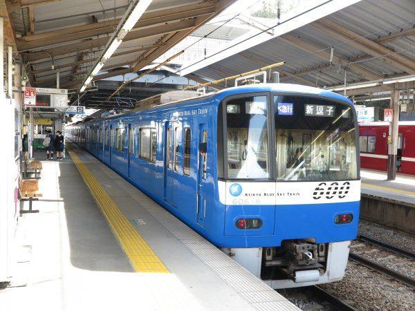 金沢八景駅ホーム