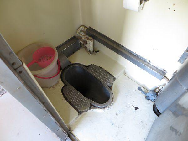 車内トイレ