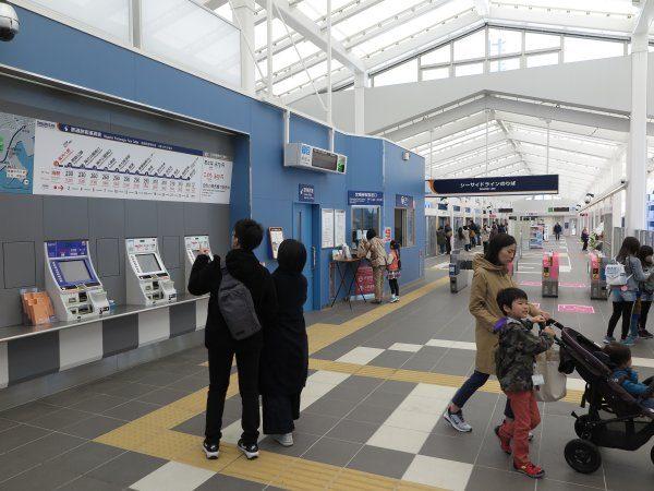 金沢八景駅コンコース